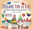 Origami Fun for Kids Kit: 20 Fantastic Folding and Coloring Projects: Kit with Origami Book, Fun & Easy Projects, 60 Origami Papers and Instructional Videos by Rita Foelker (2016)