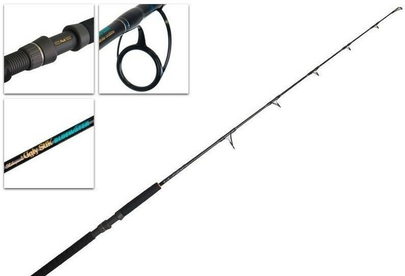 Shakespeare Ugly Stik bluwater Spin Rod - 5'6
