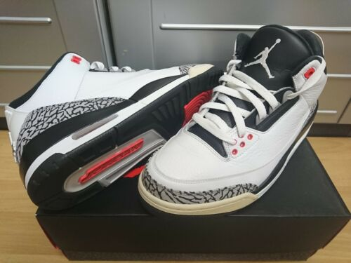 Air Jordan White 3 Cement Nike 23 Neu Retro rWBexoCEdQ