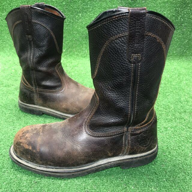 d69216f4256 Irish Setter Men's 83904 Wellington Aluminum Toe Work Boot Brown 10 D US