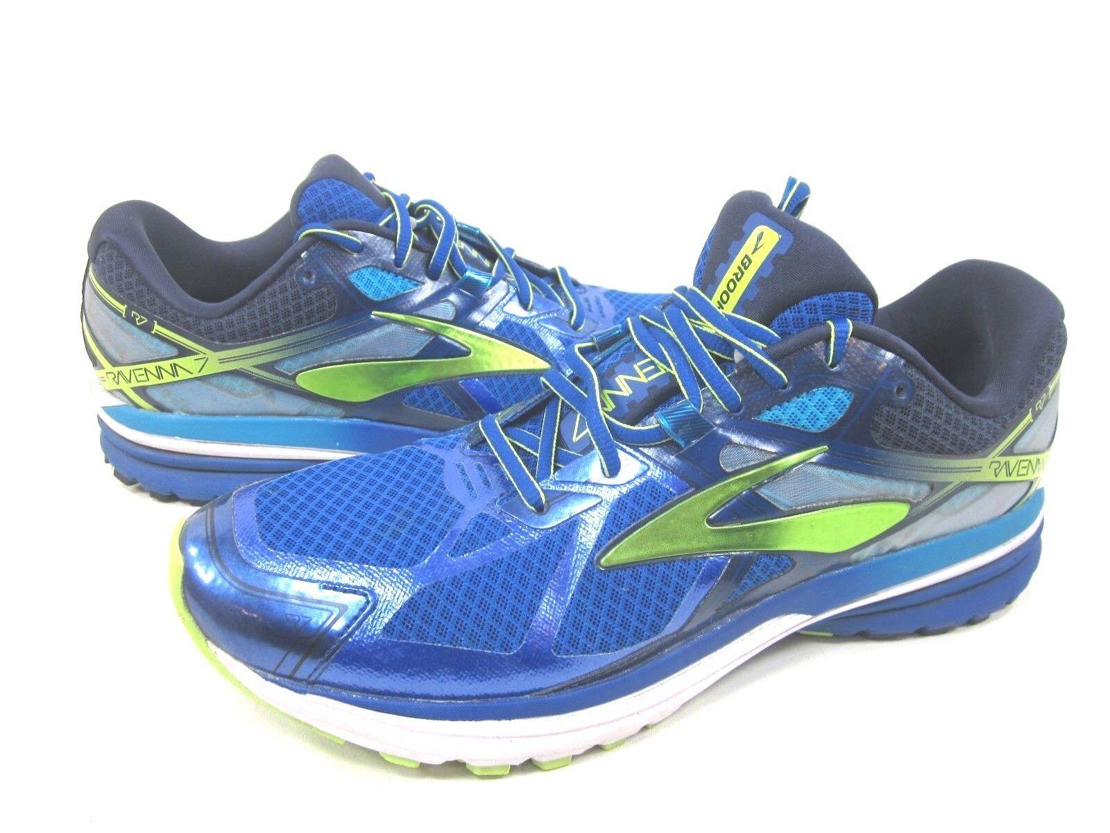 Brooks Ravenna 7 Zapatillas para hombre, navegar por la web Lima Ponche, US tamaño 9 medio