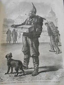 Capable Gravure 1867 Types Parisiens Le Père Tripoli Fils De La Gloire