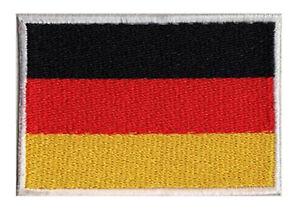 Ecusson-patche-drapeau-patch-allemand-ALLEMAGNE-70-x-45-mm