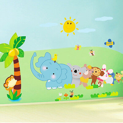 Forest Animals wall sticker for children Room wall art mural baby room decal
