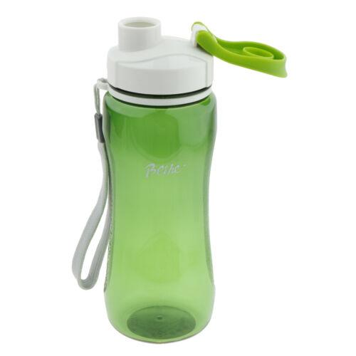 Sports Water Bottle BPA Free Plastic Running Bike Drinks for Adults /& Kids