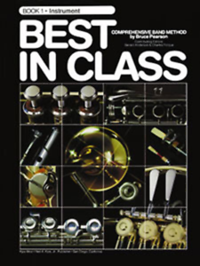 """best In Class"" Music Book 1 Pour ""saxophone"" Neuf En Promotion-band-sax!!!-! Fr-fr Afficher Le Titre D'origine Belle En Couleur"