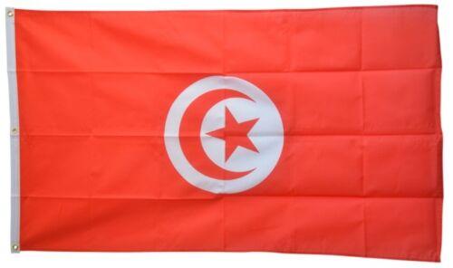 Tunisie Hissflagge tunisien drapeaux drapeaux 150x250cm