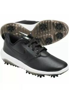 Nike Roshe G Tour Waterproof Golf Shoes Black Ar5580 Mens Size Uk 7 Eur 41 Ebay