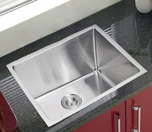 customized 22 small radius stainless steel laundry kitchen sink 2218ar 11 5 ebay. Black Bedroom Furniture Sets. Home Design Ideas