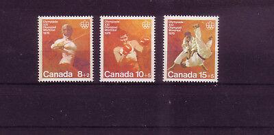 Lange Lebensdauer Gewidmet Kanada Michelnummer 602-604 Postfrisch übersee:9733