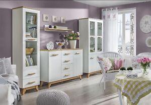 Details zu Wohnzimmer-Set Felitto VI Skandinavischer Stil Elegante Möbel  Kollektion