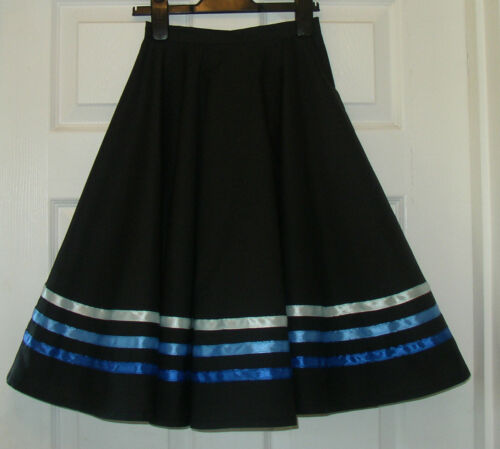 Polyester-made to measure RAD OR IDTA-elastic BALLET character skirt PINK  BLUE