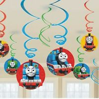 Amscan Thomas the Tank Hanging Swirl Value Pack (Multi-colored) Party Accessory - 225156 Toys