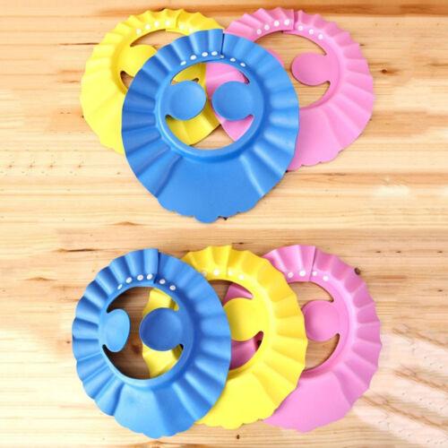 Baby Safe Shampoo Dusche Verstellbare Kappe Hut Waschen Haar Augenschutz Familie