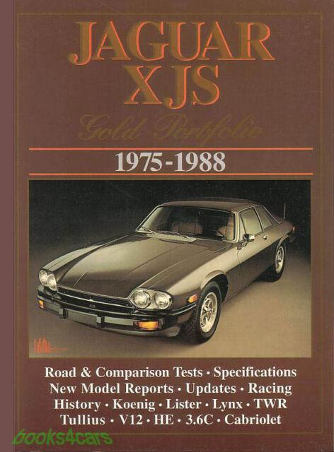 Jaguar XJS Book Portfolio Gold V12 Brooklands Xj-s He on jaguar xj12, xf portfolio, jaguar xkr, jaguar cars, jaguar sovereign, jaguar xj8 portfolio, jaguar s type portfolio, jaguar xjr portfolio, jaguar xjs, jaguar 2009 models, jaguar e-type, super v8 portfolio, jaguar xj-sc,
