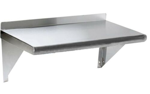 NSF Commercial Stainless Steel Wall Mount Shelf 12 x 72