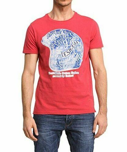 -60% Desigual Men`s T-Shirt IGNACIO Size XL NEW 49
