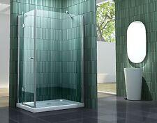 SILL-S 120 x 80 cm Glas Duschkabine Dusche Duschwand Duschwand Duschabtrennung