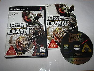 Beat Down Playstation 2 PS2 Japan import US Seller