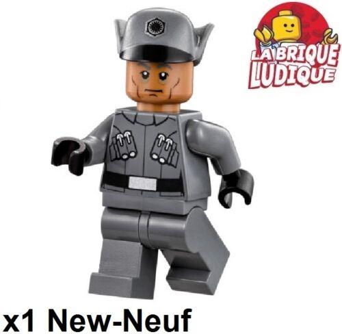 Lego Figurine Minifig Star Wars First Order Officer officier sw670 75101 NEUF