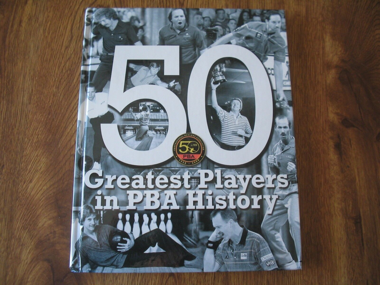 2009 PBA BOWLERS 50 Greatest Players in PBA History Rare Limited Book W Auto's