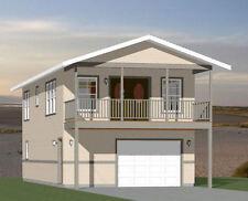 20x40 House -- 2 Bedroom 1.5 Bath -- 1,053 sq ft -- PDF Floor Plan -- Model 7C