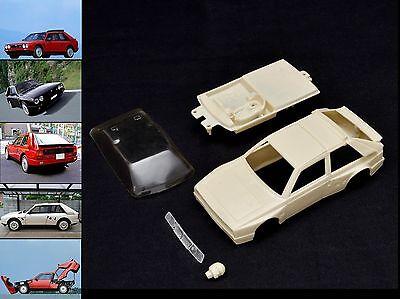 Audace 1/32 Lancia Delta S4 Stradale Resin Body Kit Slot Car, Pcs32 Polistil..