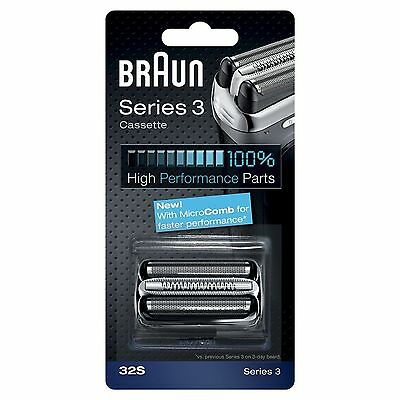 Braun 32S Series 3 Electric Shaver Replacement Foil and Cassette Cartridge.