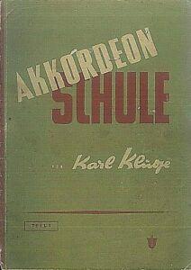 Karl-Kluge-Akkordeon-Schule-Teil-1