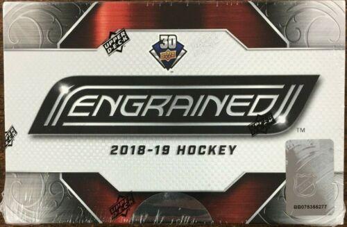 2018-19 Upper Deck Engrained Hockey Factory Sealed Hobby Box