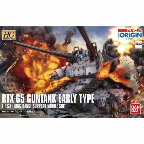 Bandai 196528 HG Gundam the Origin #2 Guntank Early Type 1//144 Model Kit NEW