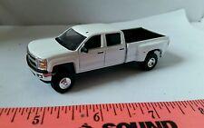 1/64 CUSTOM 2015 chevrolet chevy 3500 duramax dually pickup truck ERTL farm toy