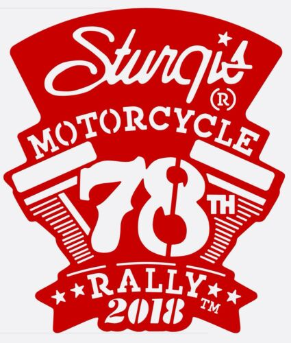 2018 Officially Licensed Sturgis Motorcycle Rally Wall Hanging