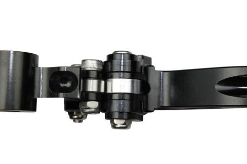 1 x black short motorcycle brake lever orange honda cbr900rr 1993-1999