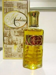 Vintage USSR collectibele parfum MOSKVICHKA Винтажные духи МОСКВИЧКА СССР