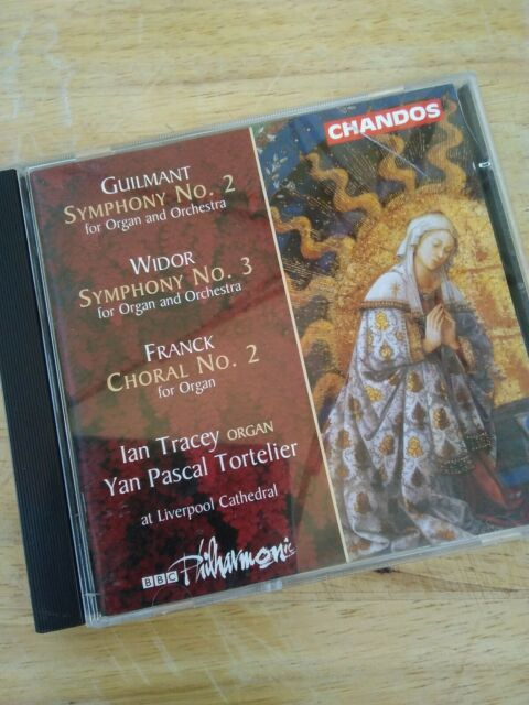 Audio CD. Chandos. French Concerti 02. Organ Liverpool Tracey.