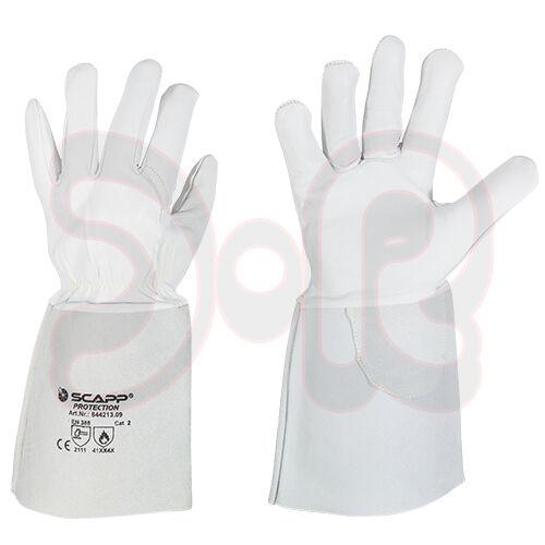 9-11 Standard plus Tig Welding Glove Scapp Wig Soldering Gloves Sz