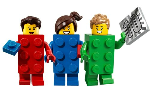 LEGO® Minifigures Serie 20-71027 Green Blue Red Brick Guys