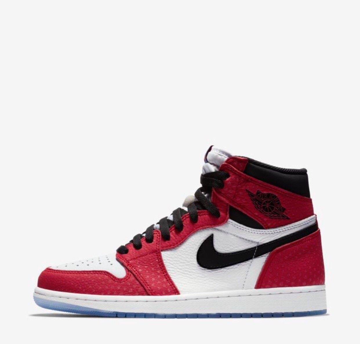 Nike Air Jordan 1 Spider man 555088 602 Air Max  sz 10.5