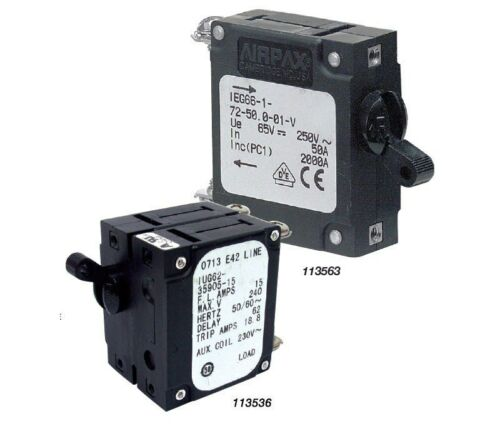 NEW BEP Circuit Breaker Switches- 20 Amps Single Pole from Blue Bottle Marine