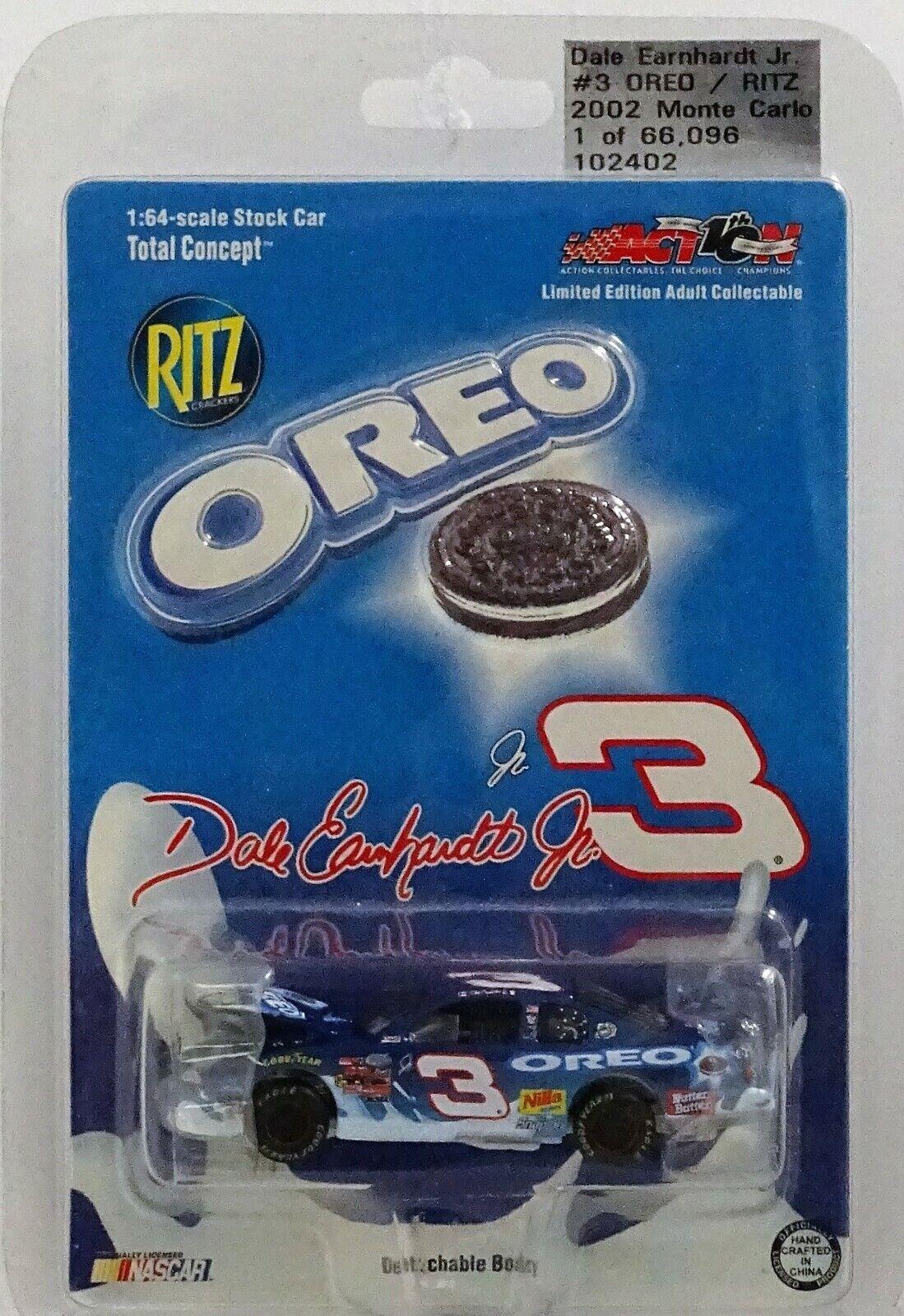 Nascar Dale Earnhardt Jr 1 64 Revell Diecast Oreo Ritz Daytona Raced Win