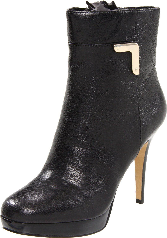 Nine para West Earlene Negro para Nine Mujer Botín Zapatos 11 154407