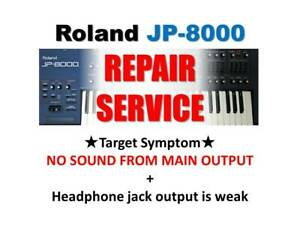 Details about ROLAND JP-8000 REPAIR SERVICE (ONLY MAIN BOARD) JP8000