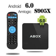 2017 Model Android 6.0 TV Box ABOX  Amlogic S905X