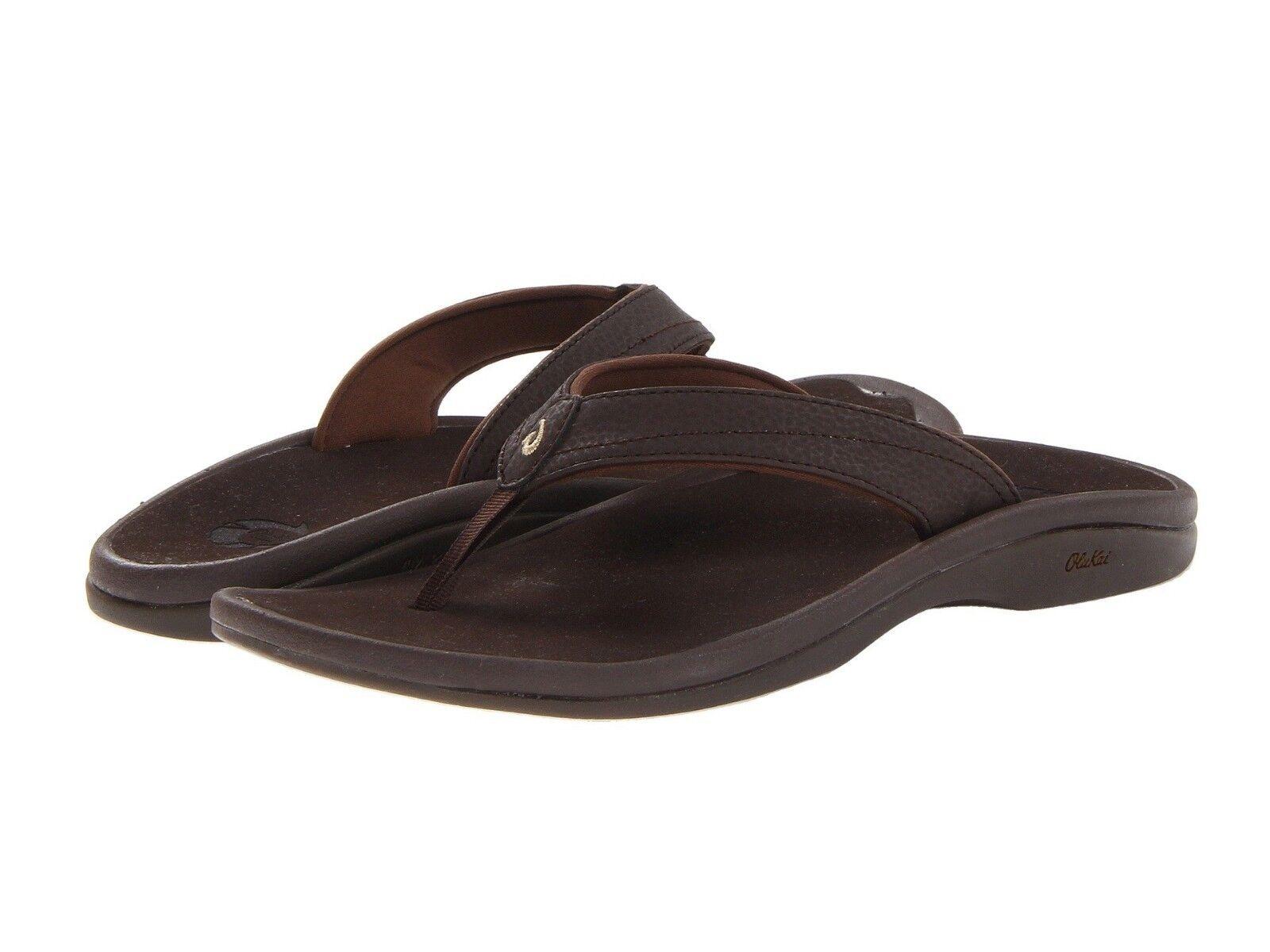 Women's shoes OluKai Ohana Casual Thong Sandals 20110-4848 Dark Java New
