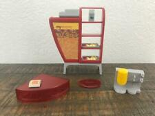2003 Barbie Doll My Scene Daily Dish Cafe Playset Coffee Shop Furniture Food Lot Contemporary Barbie Dolls 1973 Now Winvest Global Doll Furniture