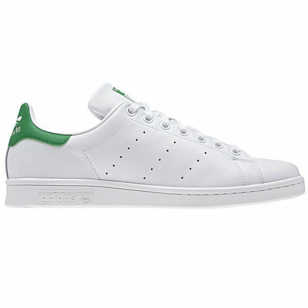 adidas ORIGINALS MEN'S STAN SMITH WHITE GREEN SHOES LEATHER TRAINERS SNEAKERS