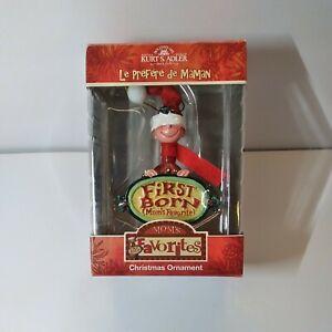 Kurt S Adler Mom's Favorites First Born Son Boy Christmas Ornament