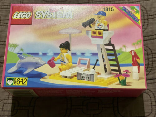 Very Rare LEGO 1815 Paradisa Lifeguard Town Brand NEW MINT