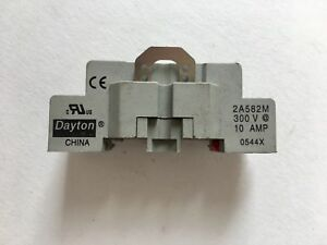 Dayton-2A582M-Relay-Socket-300V-10AMP